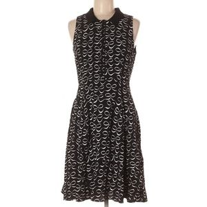 NWT KATE SPADE Bow Print Mackenna Fit Flare Dress